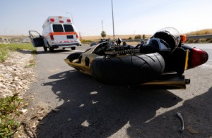 motorcycle-accident-on-highway